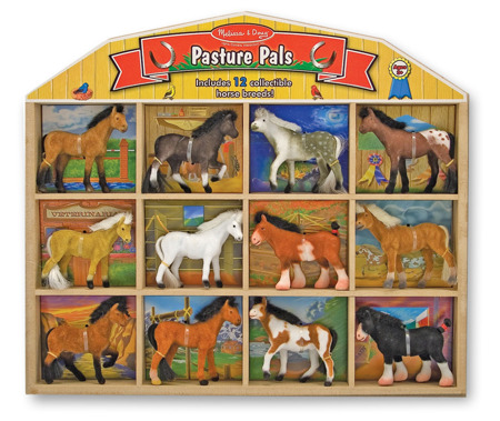 Zestaw 12 figurek Koniki Melissa and Doug 10592