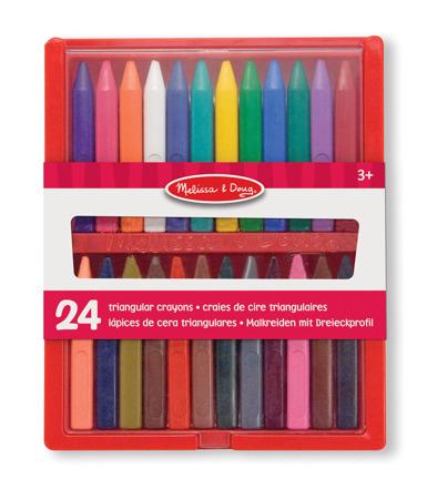 Zestaw 24 Kolorowe Kredki 14136 Melissa and Doug