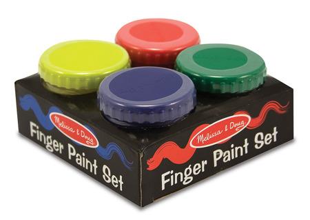 Zestaw 4 Farb do Malowania Palcami 14146 Melissa and Doug